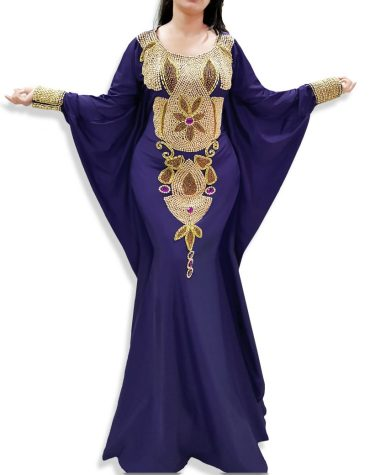 Formal Evening Gowns African Attire Wedding Moroccan Caftan Long Dresses For Women
