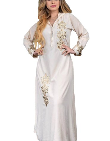 Formal Classic Elegant Party Maxi Gown Formal Beaded Kaftan Dresses For Women's Party