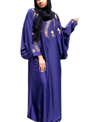 Stylish Designer Collection Moroccan Plus size African Attire Floral Gown For Women