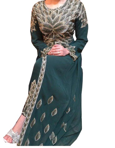 New Indian Classic Style Designer Evening Party Wear Anarkali Suit for Women