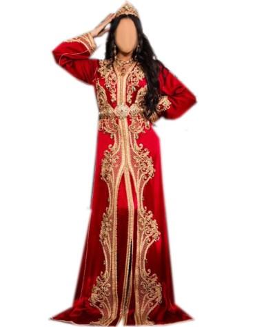 Arabic Style Dubai Muslim Wedding Stylish Designer Kaftan Dress For Women