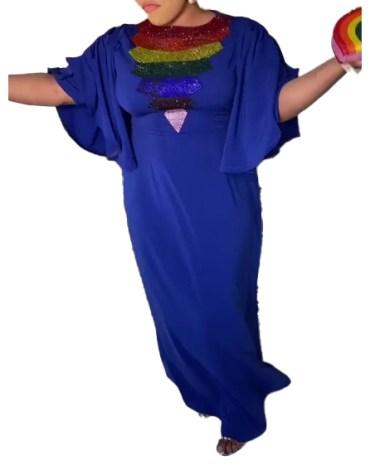 Designer Beautiful African Attire Spandex Kaftan For Women
