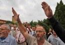 8 Photos: Boers doing the NAZI Salute – 2010: Eugene Terreblanche