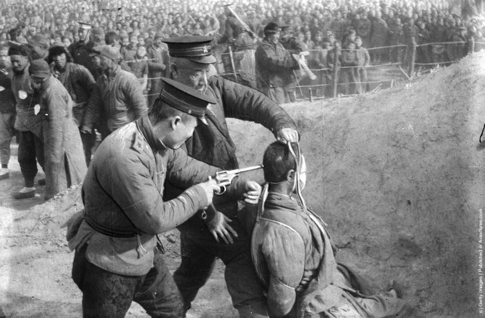 Image result for communist chinese execution