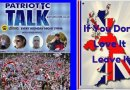 Video & Audio: Britain: Patriotic Talk chat to Jan about S.African violence & teaching Whites