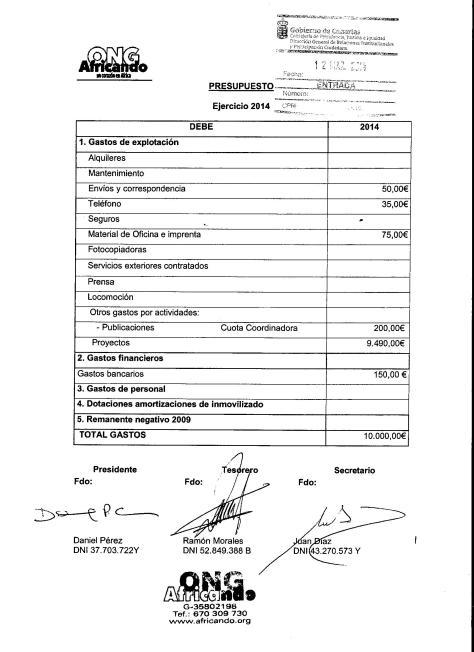 Presupuesto 2014 Debe 001