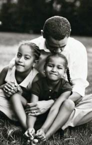 Obama love...
