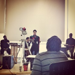 An intimate afternoon of poetry with THE GRIOT PROJECT and the community.