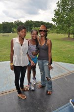 my cousins and I