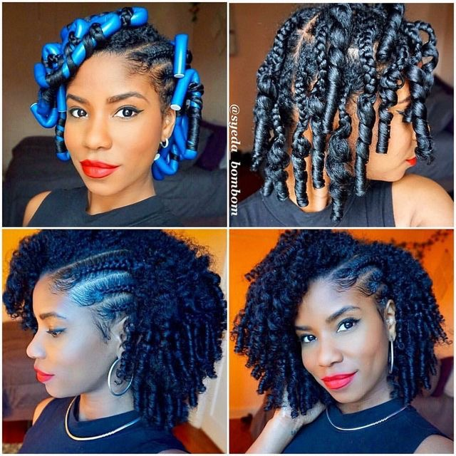 Easy Diy Natural Hair Styles African Fashion