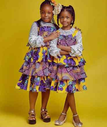 Beautiful Ankara Styles For Children 2020 - African fashion