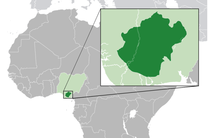 Africanfinestmums - Map showing origin of Ndi Igbo