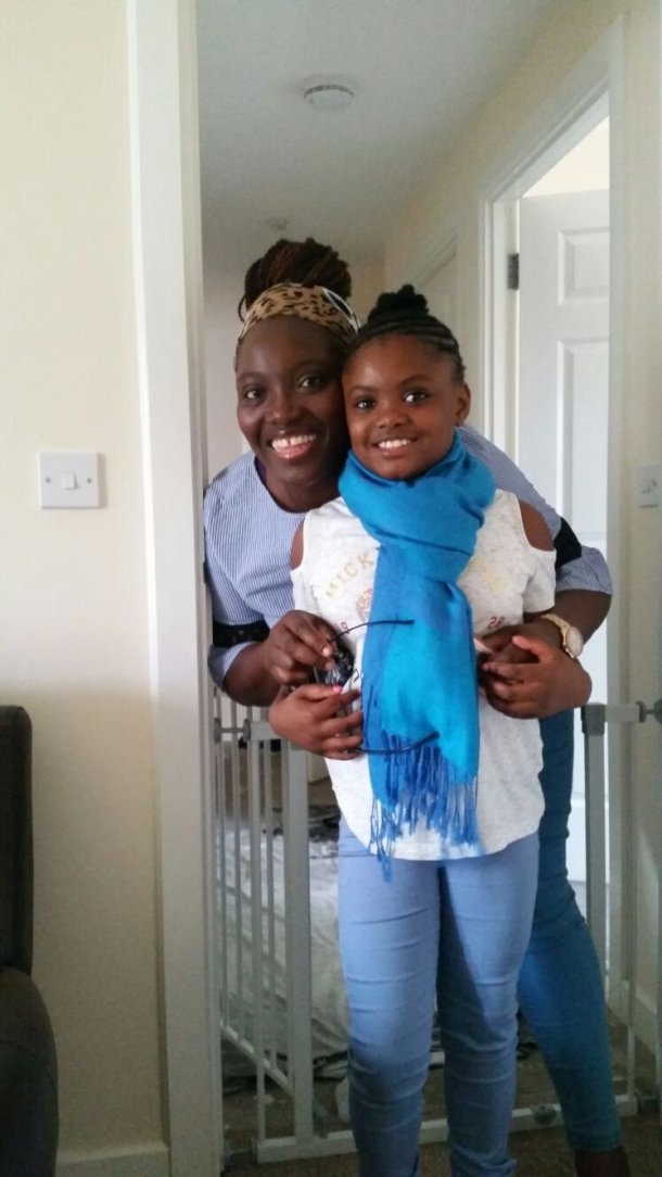 Africanfinestmums - A domestic violence journey (conclusion) - Zee and her baby girl