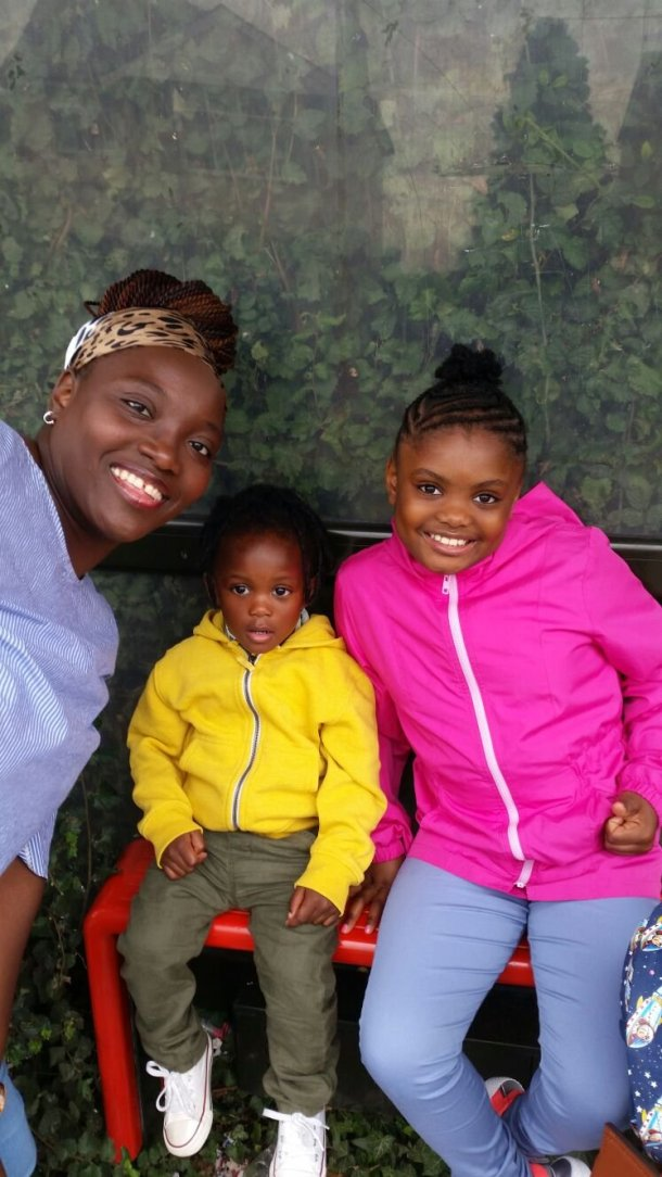 Africanfinestmums - A domestic violence journey (conclusion) - Me and my babies, Overcomers