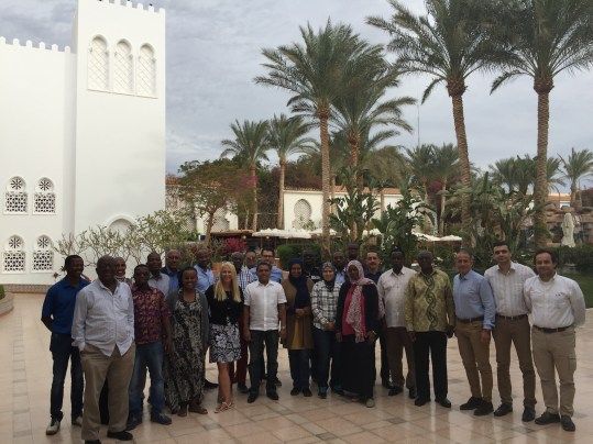 Members of the AGN at the Lead Coordinators Meeting held in Sharm El Sheikh, Egypt, February 2018