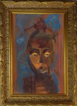 African Symbolic Portrait, painting, Xea B.
