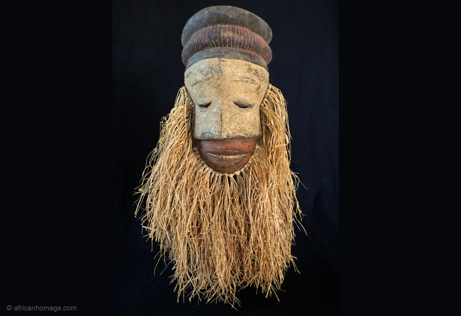 African Art, Grebo Mask (2), collection, African Homage