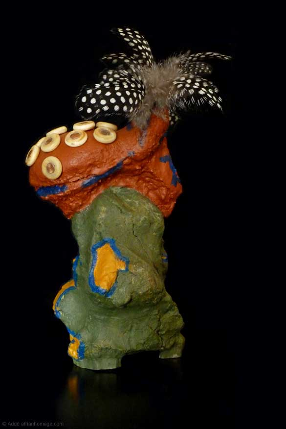 African Homage sculpture Pride of the Pende
