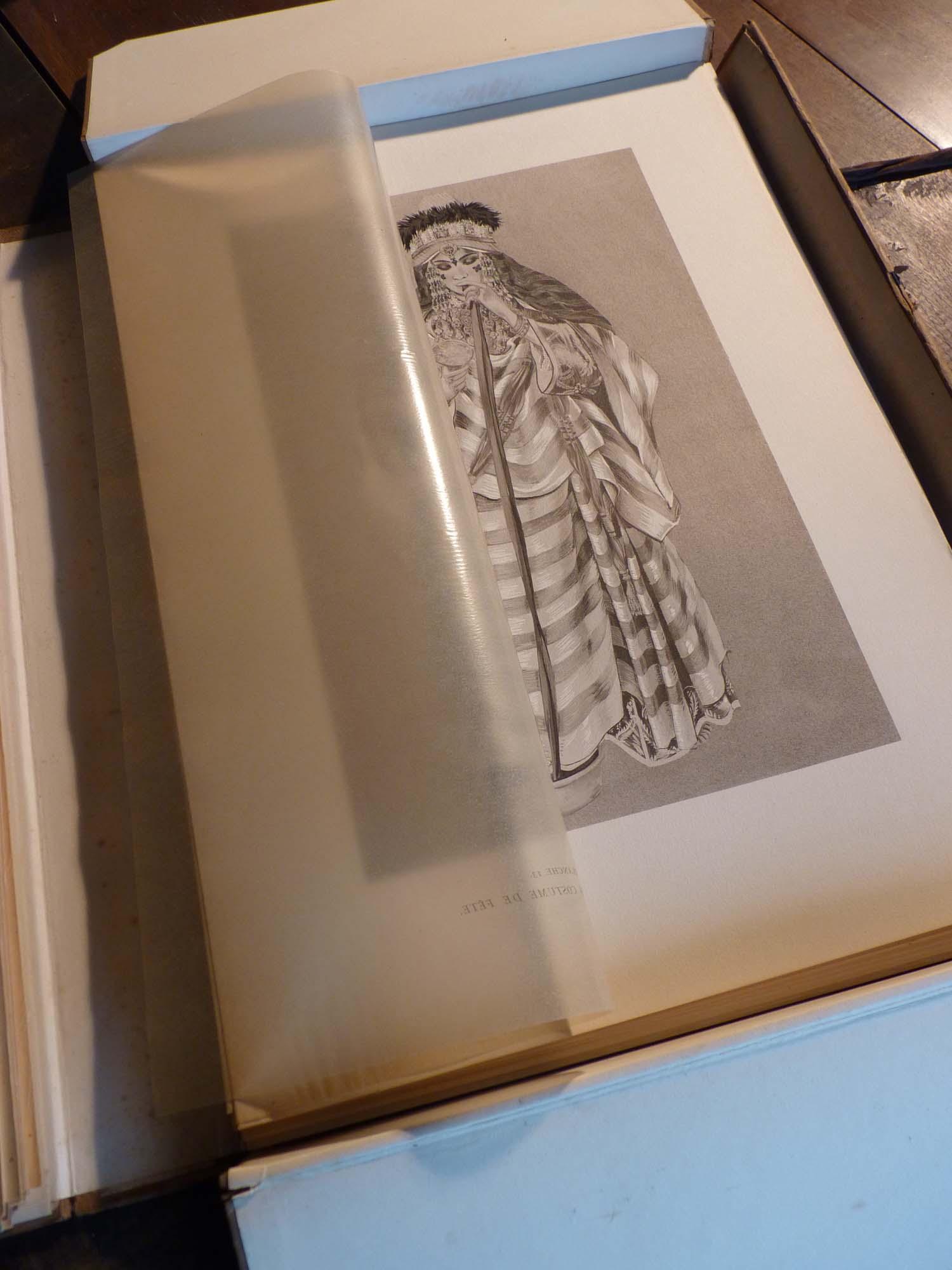 Types et Costumes du Maroc Besancenot-Girard