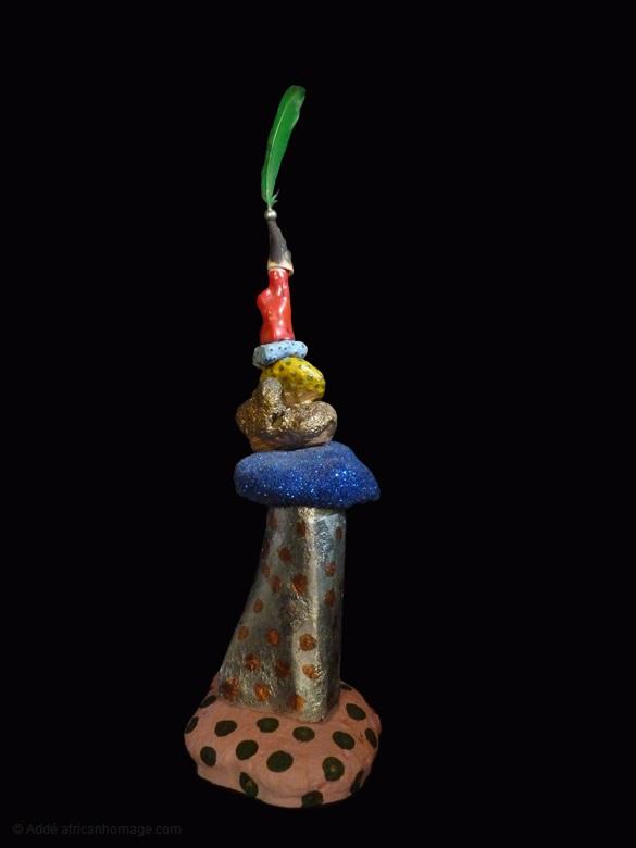 13 - Gooble Gobble, sculpture, Addé