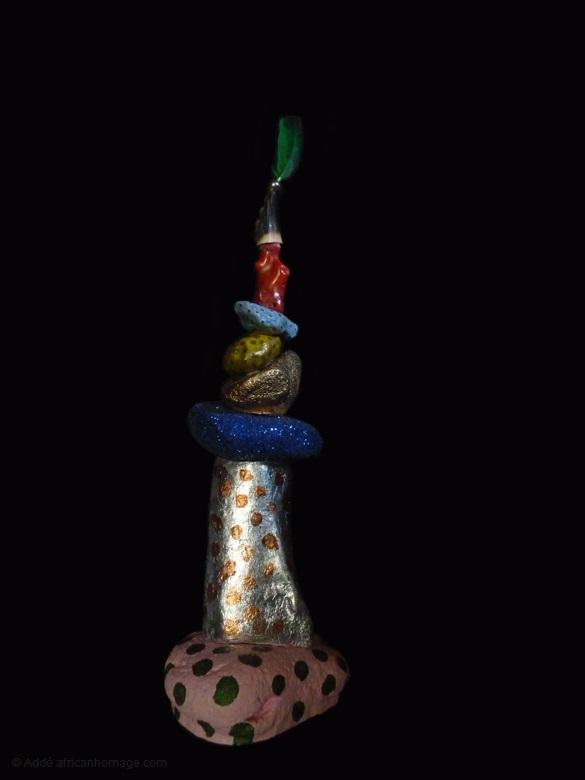 5 - Gooble Gobble, sculpture, Addé