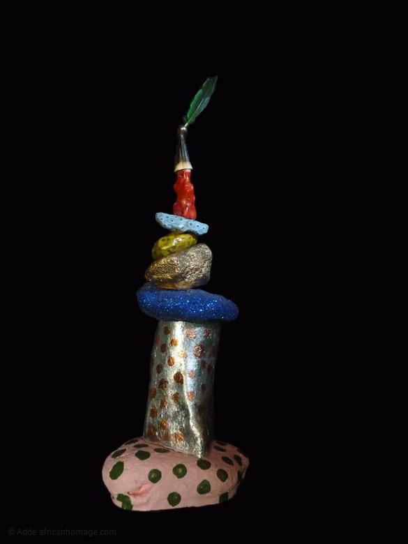 6 - Gooble Gobble, sculpture, Addé