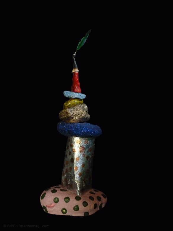 7 - Gooble Gobble, sculpture, Addé