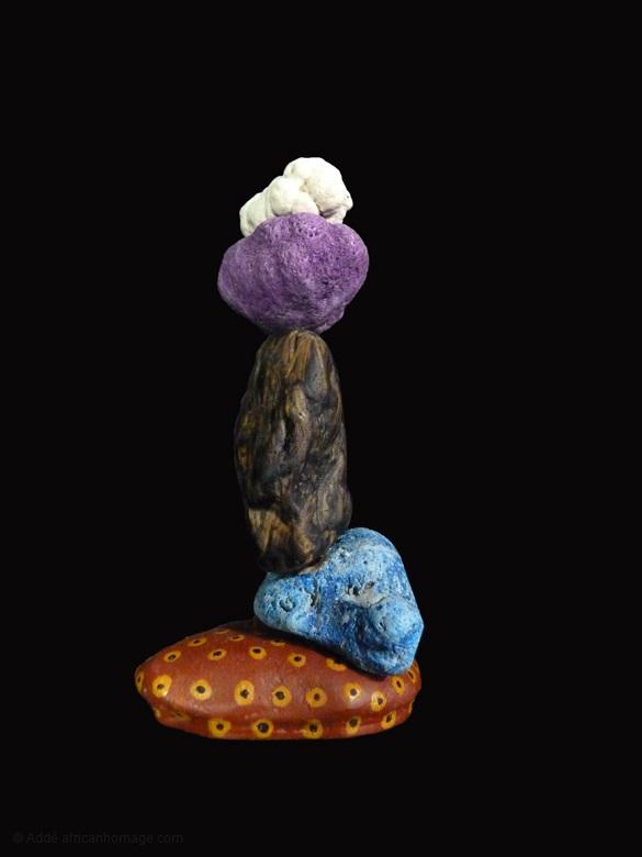 2 - Purple Haze, sculpture, Addé