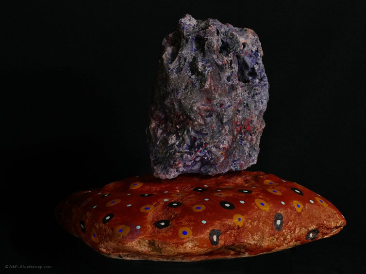 The Hag Stone, sculpture, Addé, African Homage
