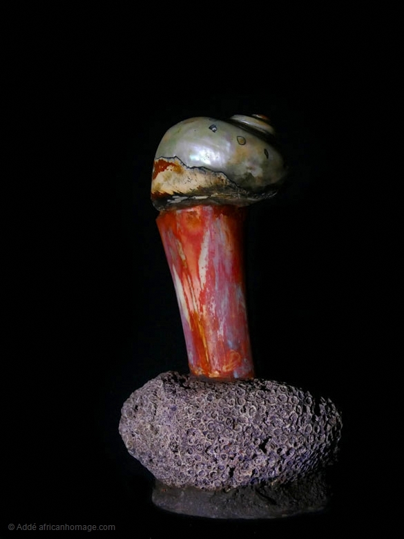De rerum natura, sculpture, Addé, African Homage