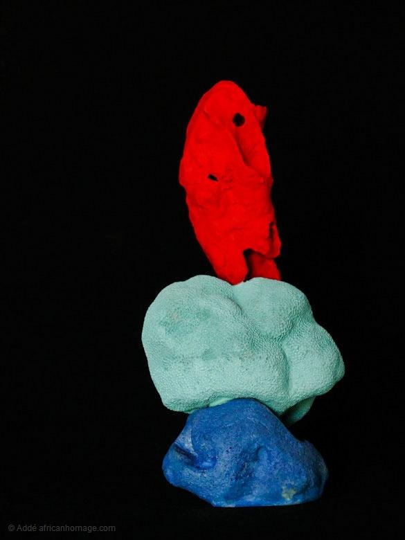 Echo, sculpture, Addé, African Homage