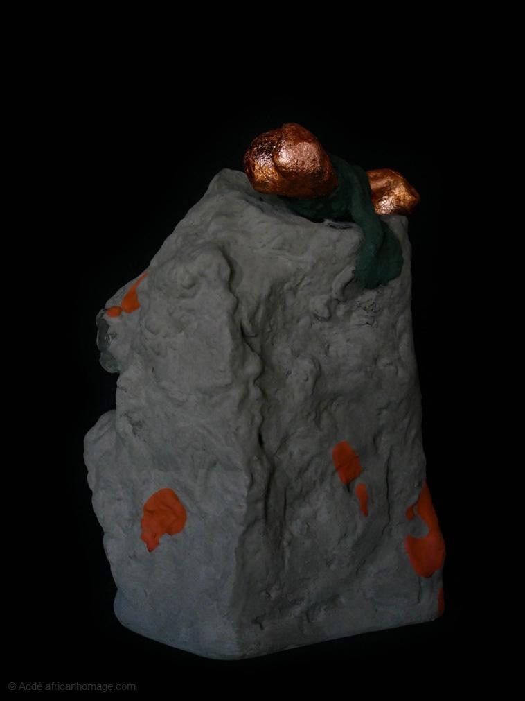 Ex-voto, sculpture, addé, african homage