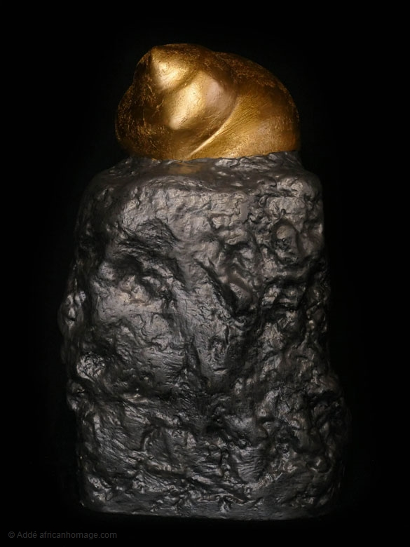 sculpture 1, the king of snails
