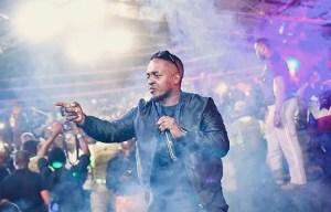 M.I Abaga on stage