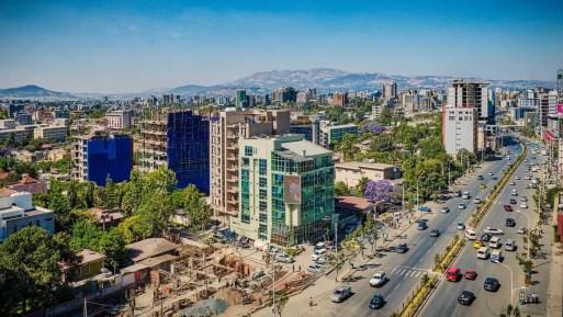 Addis Ababa's skyline