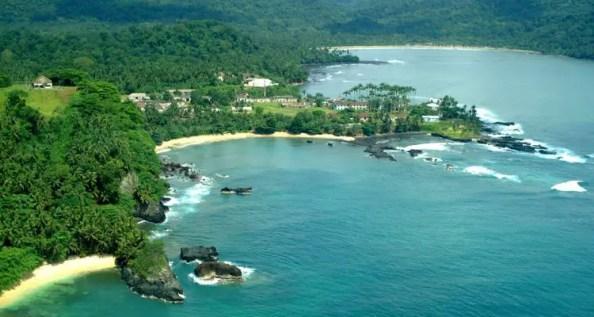 Sao Tome and Principe island
