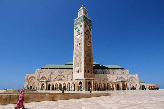 Hassan II Mosque inside