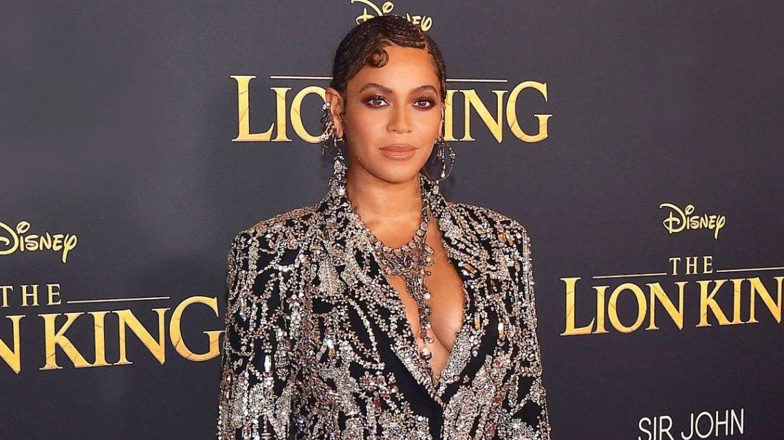 Beyonce à la première du Roi Lion, Getty Images, juillet 2019
