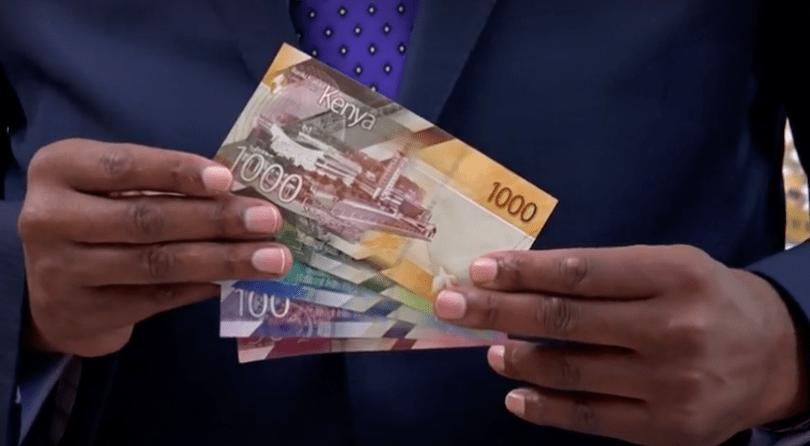 nouveaux billets kenyans. reuters