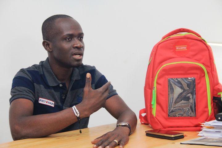 Evariste Akoumian, l'inventeur de Solar pak, WeeTracker,