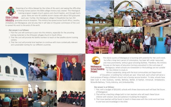 African Leadership Brochure