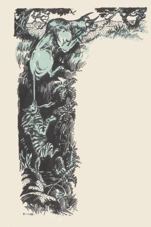 Boeuf sauve l'Hyene en utilisant sa queue