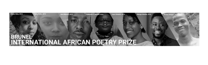 2018 £3,000 Brunel University International African Poetry Prize