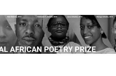 2018 £3,000 Brunel University International African Poetry Prize