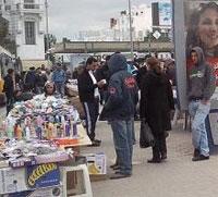 Les étalages anarchiques et les marchands ambulants ont disparu mercredi dans la plupart des rues principales de la capitale et en particulier de la Rue Charles