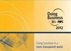 L'indice de « Doing Business2012 » établi par la Banque mondiale