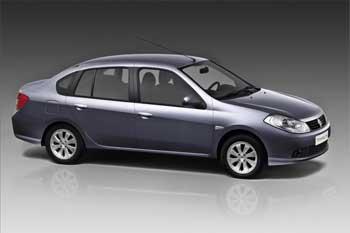 La Renault Symbol confirme son leadership dans le marché pour la 4ème année
