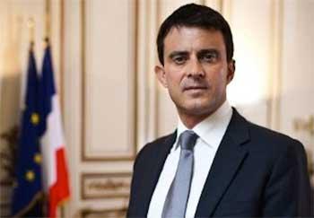Le premier ministre français Manuel Valls sera lundi 8 septembre en
