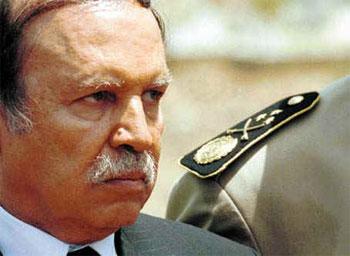 Le président algérien