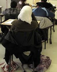 17 élèves voilées ont été prises